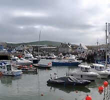 West bay Harbour , Dorset UK by lynn carter