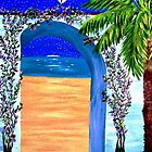 Flowery Arch @ Nite by WhiteDove Studio kj gordon
