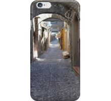 cobbled streets of rhodes iPhone Case/Skin