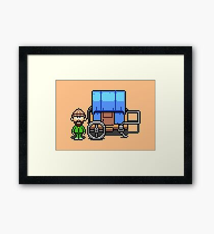 Item Guy - Mother 3 Framed Print