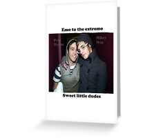 Emo to the Extremo Greeting Card