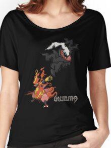Judas' Darkrai & Magmortar Women's Relaxed Fit T-Shirt