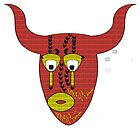 Bull Mask by SecondNature