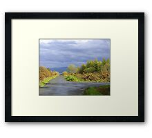 Rain Clouds And Gorse.................................Ireland Framed Print