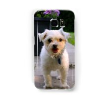cute little dog Samsung Galaxy Case/Skin