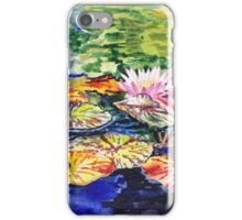 Impressionistic Waterlilies iPhone Case/Skin