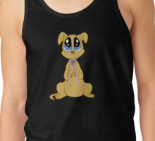 Breast cancer puppy Tank Top