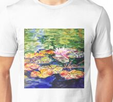 Impressionistic Waterlilies Unisex T-Shirt