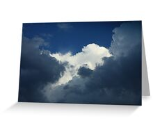 *SEVERE WEATHER CLOUDS* Greeting Card