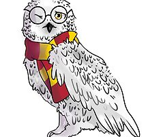 Harry Potter Hedwig by Anneart