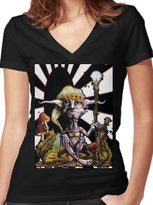 Elf 2 Women's Fitted V-Neck T-Shirt