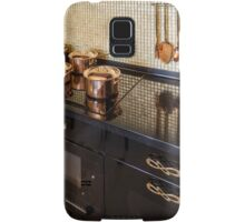 pan on an electric stove Samsung Galaxy Case/Skin
