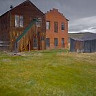 Backside of Bodie Main Street by photosbyflood