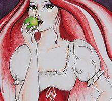 The apple by Jaymilina