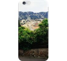 cannes city view scenery iPhone Case/Skin