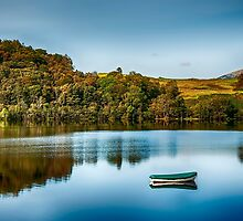 Loch Awe Reflections by Chris Thaxter