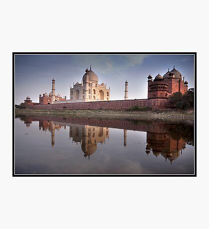 Taj Mahal on reflection Photographic Print