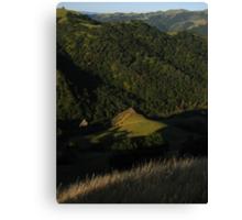 California Hills, Sunol Regional Wilderness, CA 2015 Canvas Print