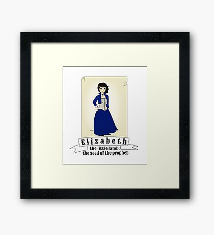 Elizabeth - Bioshock Infinite Framed Print