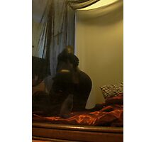 Zentai Through the Looking Glass 4 Photographic Print