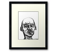 This isn't part of the trick. Framed Print