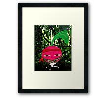 Rambo Radish Framed Print