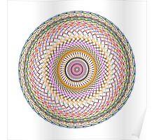 Multi Colored Swirl 4 Poster