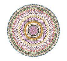Multi Colored Swirl 4 Photographic Print