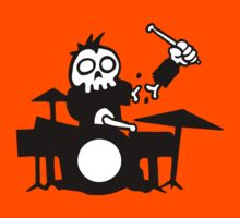 zombi drum funny drummer  T-Shirt