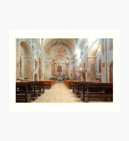 Church of S. Michele Arcangelo Art Print