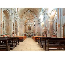 Church of S. Michele Arcangelo Photographic Print
