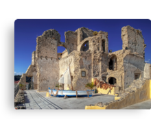 Alarçon Mendoza Castle's Ruins Canvas Print
