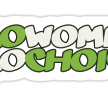 Pro women pro choice Sticker