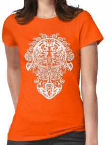 LINE DESIGN by Ethereal - C.Graham copyright 2009. Womens Fitted T-Shirt