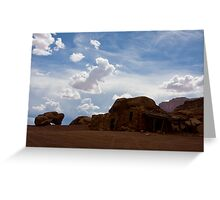 Navajo Rock House Greeting Card