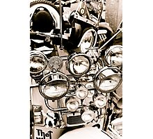 Mods day out Photographic Print