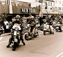 Old Mods day out by Pat Shawyer