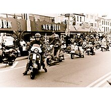 Old Mods day out Photographic Print