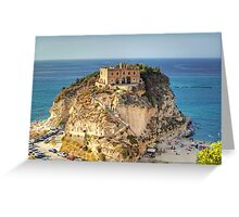 Sanctuary of Santa Maria dell'Isola Greeting Card