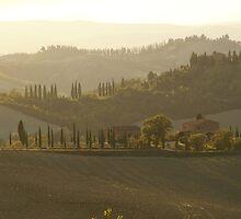 Tuscany Morning by Sturmlechner