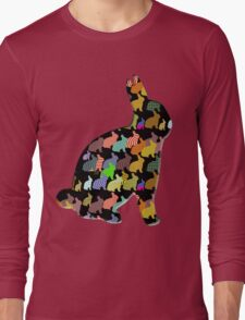 Bunny Rabbit T-Shirt Long Sleeve T-Shirt