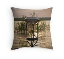 The Barge Throw Pillow