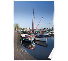 Three boats Poster