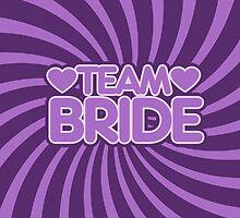 Team bride in purple by Boogiemonst