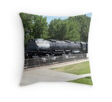 Big Boy, the worlds largest Steam Locomotive Throw Pillow