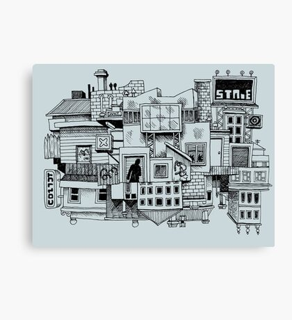 This Town Canvas Print