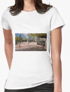 Central Plaza Womens Fitted T-Shirt