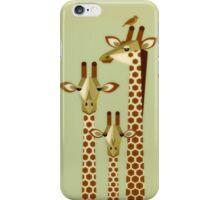 Giraffe Family iPhone Case/Skin