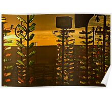 Surreal Sunset Poster