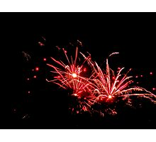 Queen's Birthday Fireworks - Part I. Photographic Print